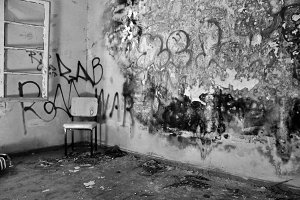 Chair Decayed Room