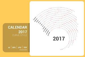 Calendar 2017 Curve Design