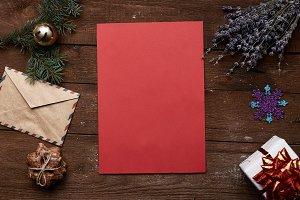 Christmas greeting concept
