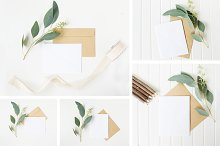 Natural Stationery Mockup Bundle