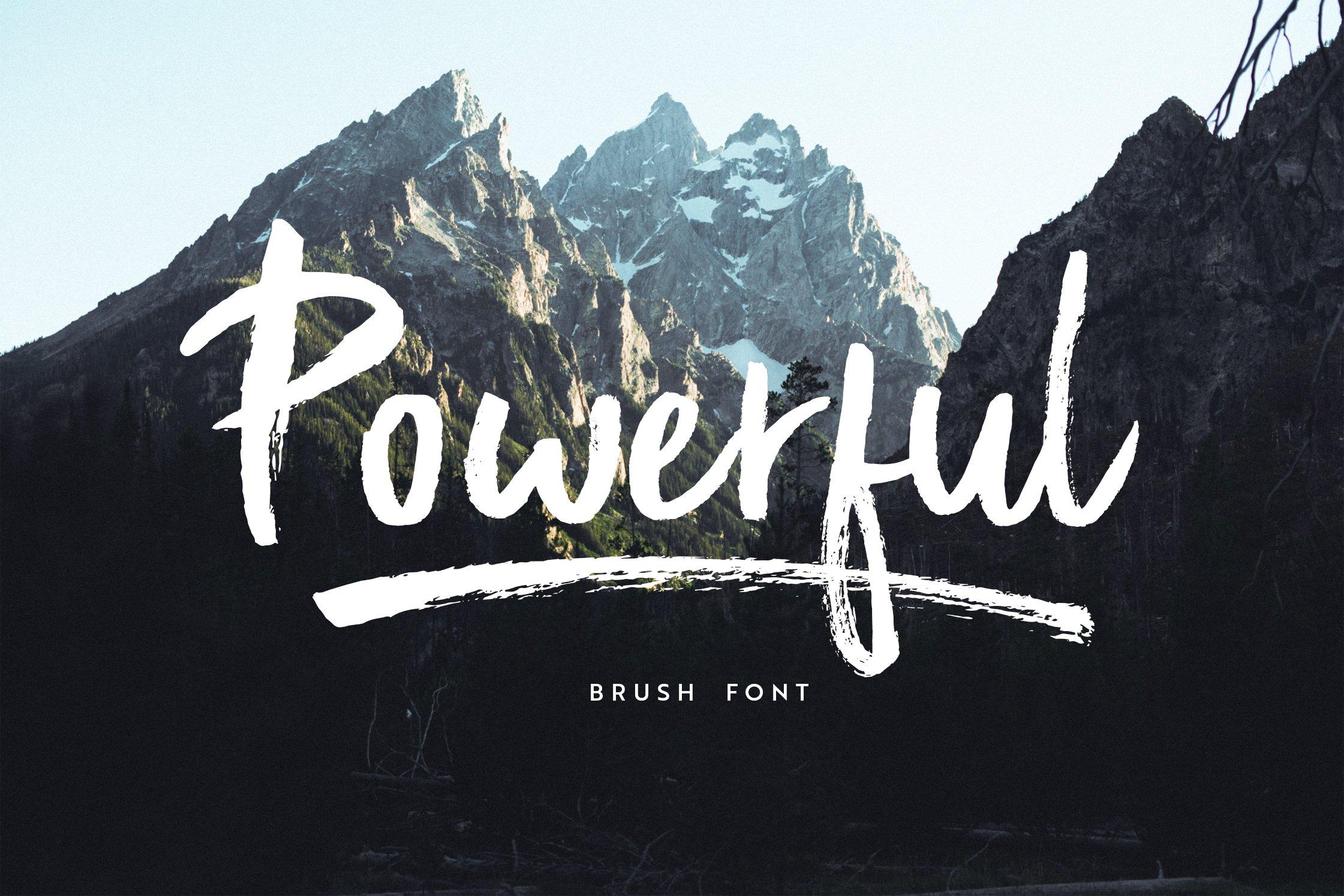 Popular Paint Brush Fonts