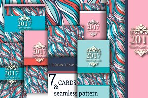 7 cards & pattern of waves