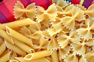 Four Kinds Of Pasta