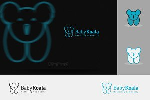 Baby Koala Logo