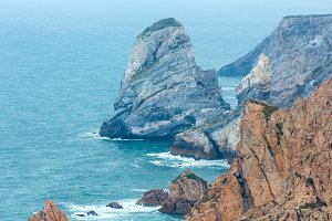 Cape Roca ocean view, Portugal