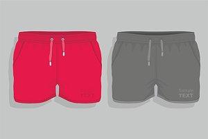 Men sport shorts