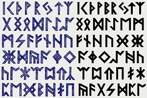 Runes, ancient writing
