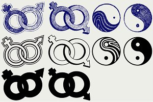 Love symbols Relations