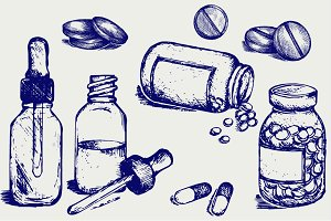 Therapeutic drugs, pills