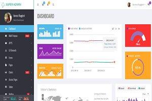 Super Admin - Bootstrap  Admin Theme