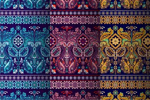 3 Border Paisley Patterns