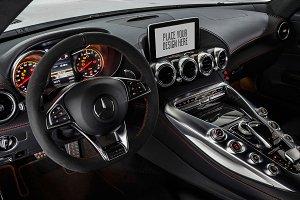 Car Tablet/Navi Display Mock-up#3