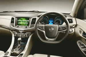 Car Tablet/Navi Display Mock-up#11