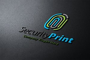 Security Print Logo