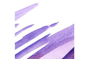 Watercolor blue lilac violet texture