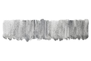 Watercolor silver gray texture spot