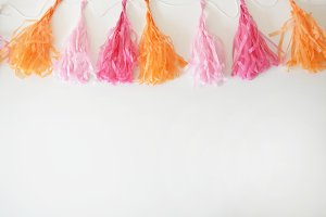 Party Garland Styled Stock Photo #1