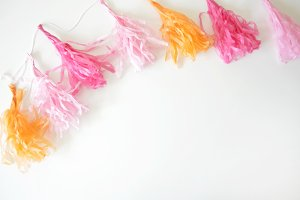 Party Garland Styled Stock Photo #2