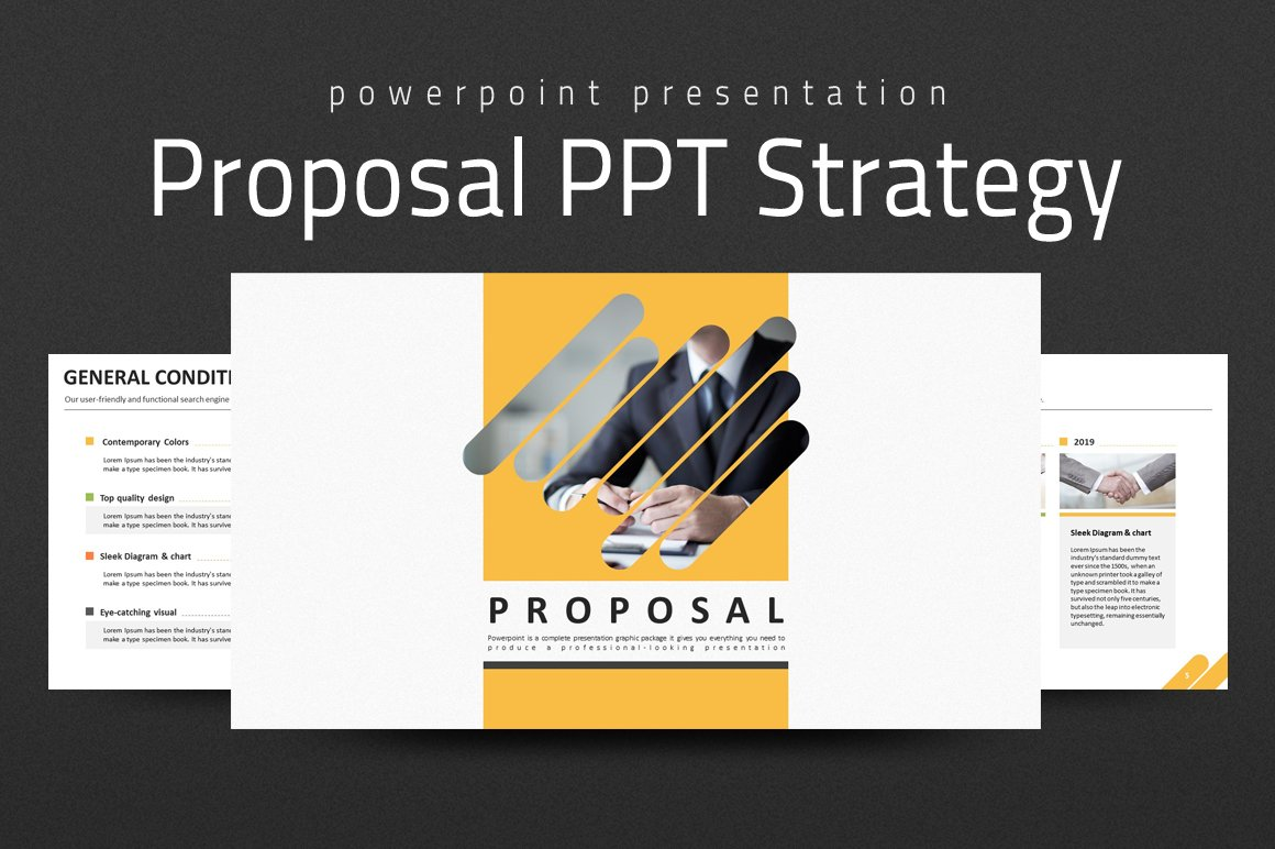 Website Proposal Template Slides