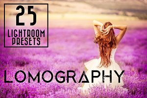 25 Lomography Lightroom Prests