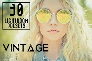 30 Vintage Lightroom Presets