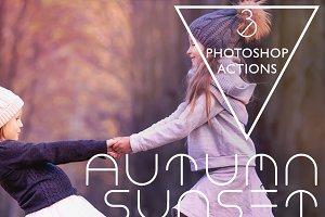 Autumn Sunset PS Action