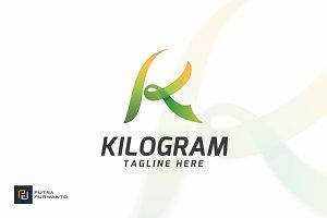KILOGRAM / Letter K - Logo