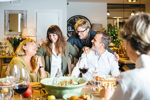 Thanksgiving Day Celebration family