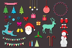 Christmas Design Elements v1