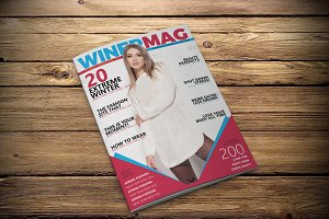 Magazine Cover Template v23