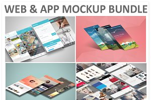Web & App Mockup Bundle-32% Off