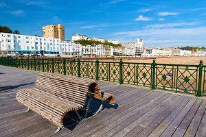 Hastings Pier East Sussex England