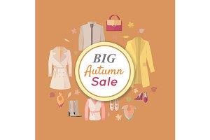 Big Autumn Fall Outerwear