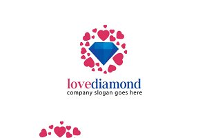 Love Diamond Logo