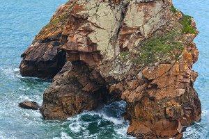 Summer Atlantic coast, Portugal