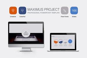 Maximus Powerpoint Template