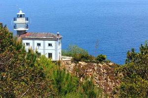 Summer Atlantic ocean coast, Spain