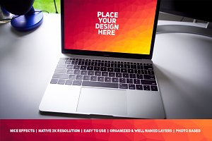 MacBook Display Mock-up #72