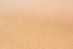 sand ground on beach