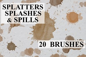 Splatters Splashes & Spills