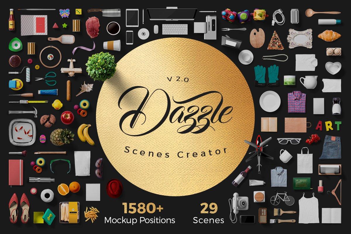 Dazzle - Scene Creator Bundle ~ Scene Creator Mockups ~ Creative Market