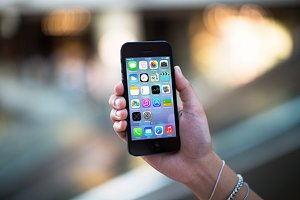 iPhone5 Template, Escalator (L)