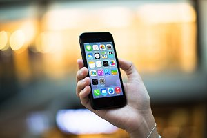 iPhone5 Template, High Class (S)