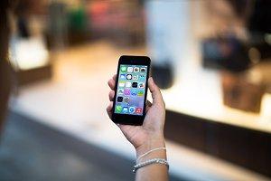 iPhone5 Template, Bag Envy (L)