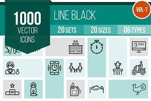 1000 Line Icons (V7)