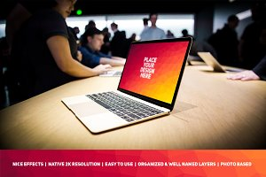 MacBook Display Mock-up #89