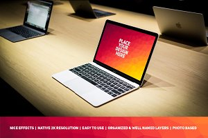 MacBook Display Mock-up #90
