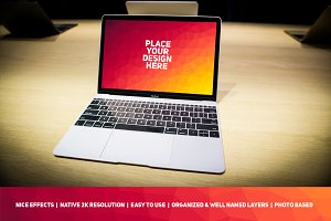MacBook Display Mock-up #96
