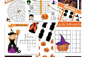 Halloween kids acitivities and games