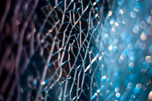 Cracked Glass blue 2